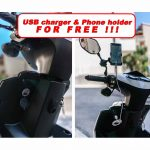 USB Charger & Phone holder Free !