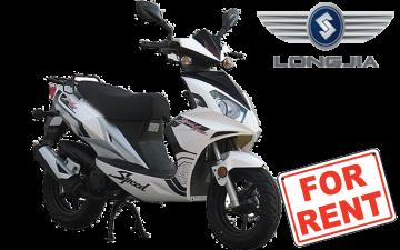 Rent Longjia Luna Vision 50cc