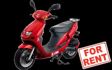 Rent SYM Jet 50 BasiX 50cc