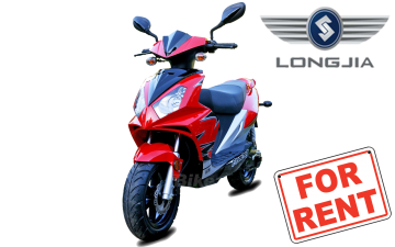 Rent Longjia Sprint Exactly 50cc