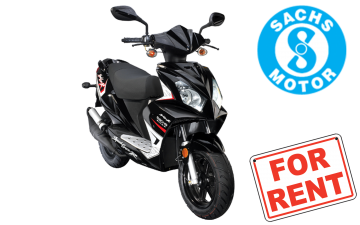 Rent Sachs SpeedForce 50cc