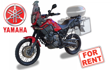 Rent Yamaha XT660Z Ténéré
